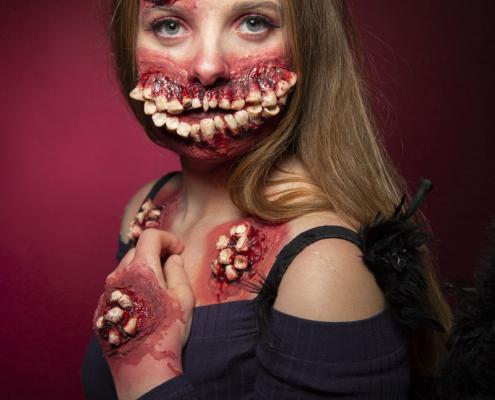 Workshop Halloween Make-up